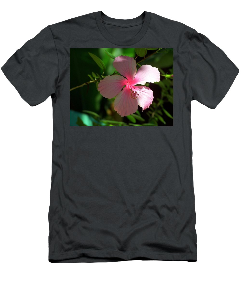 Pink Men's T-Shirt (Athletic Fit) featuring the photograph Pretty In Pink Photograph by Kimberly Walker