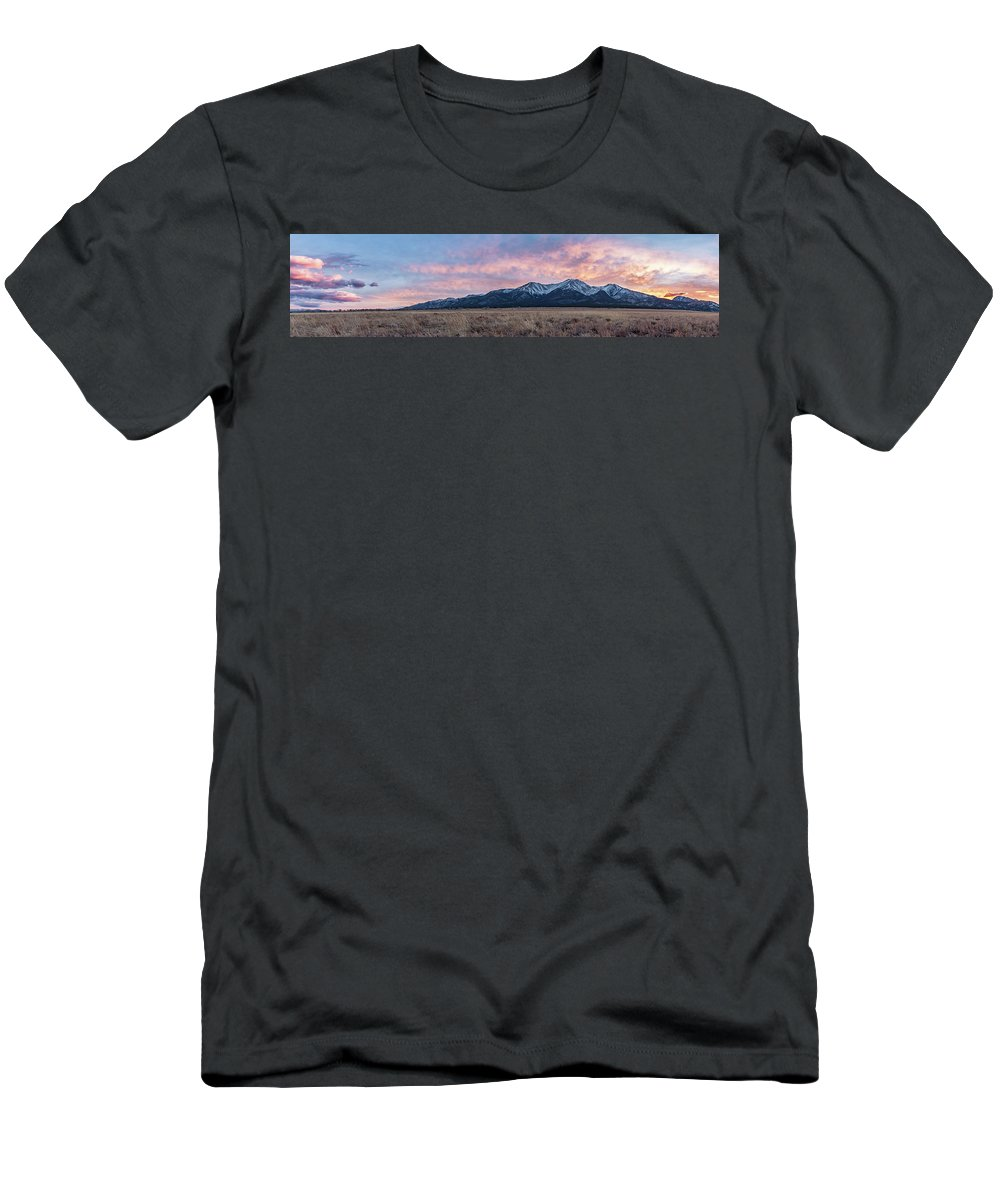 Men's T-Shirt (Athletic Fit) featuring the photograph Princeton Panorama 11 by Logan Myers