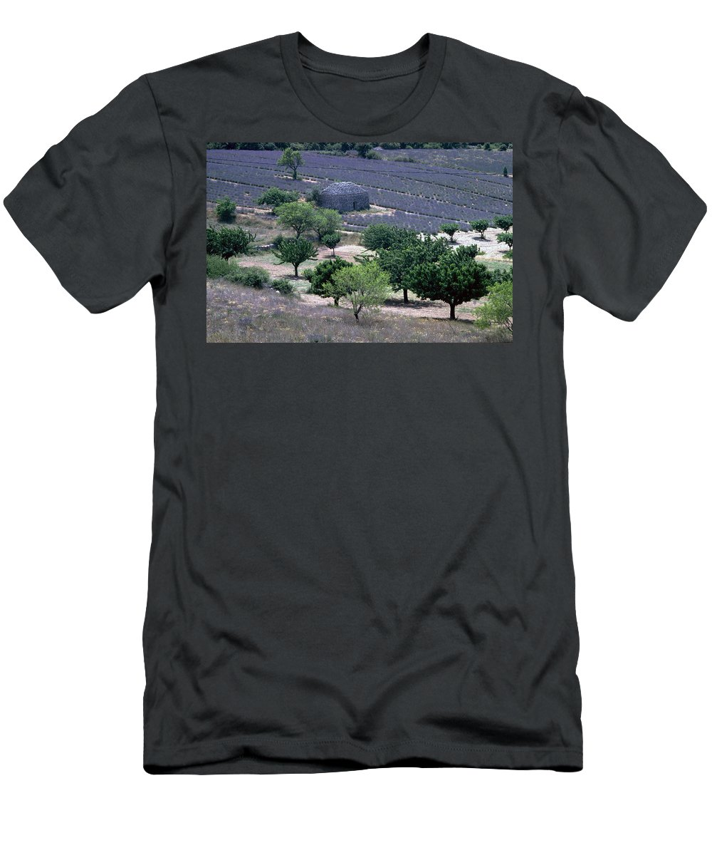 Provence Men's T-Shirt (Athletic Fit) featuring the photograph Provence by Flavia Westerwelle