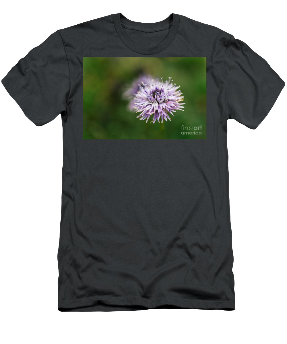 Colorado Men's T-Shirt (Athletic Fit) featuring the photograph Purple Bloom 2 by Ashley M Conger