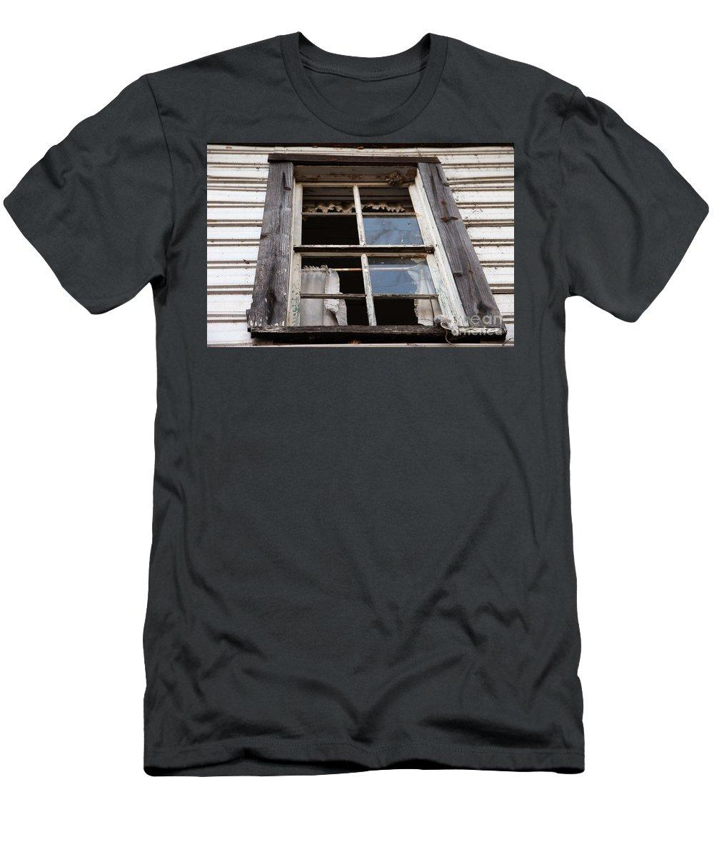 Rapunzel's Decay Men's T-Shirt (Athletic Fit) featuring the photograph Rapunzel's Decay by Amanda Barcon