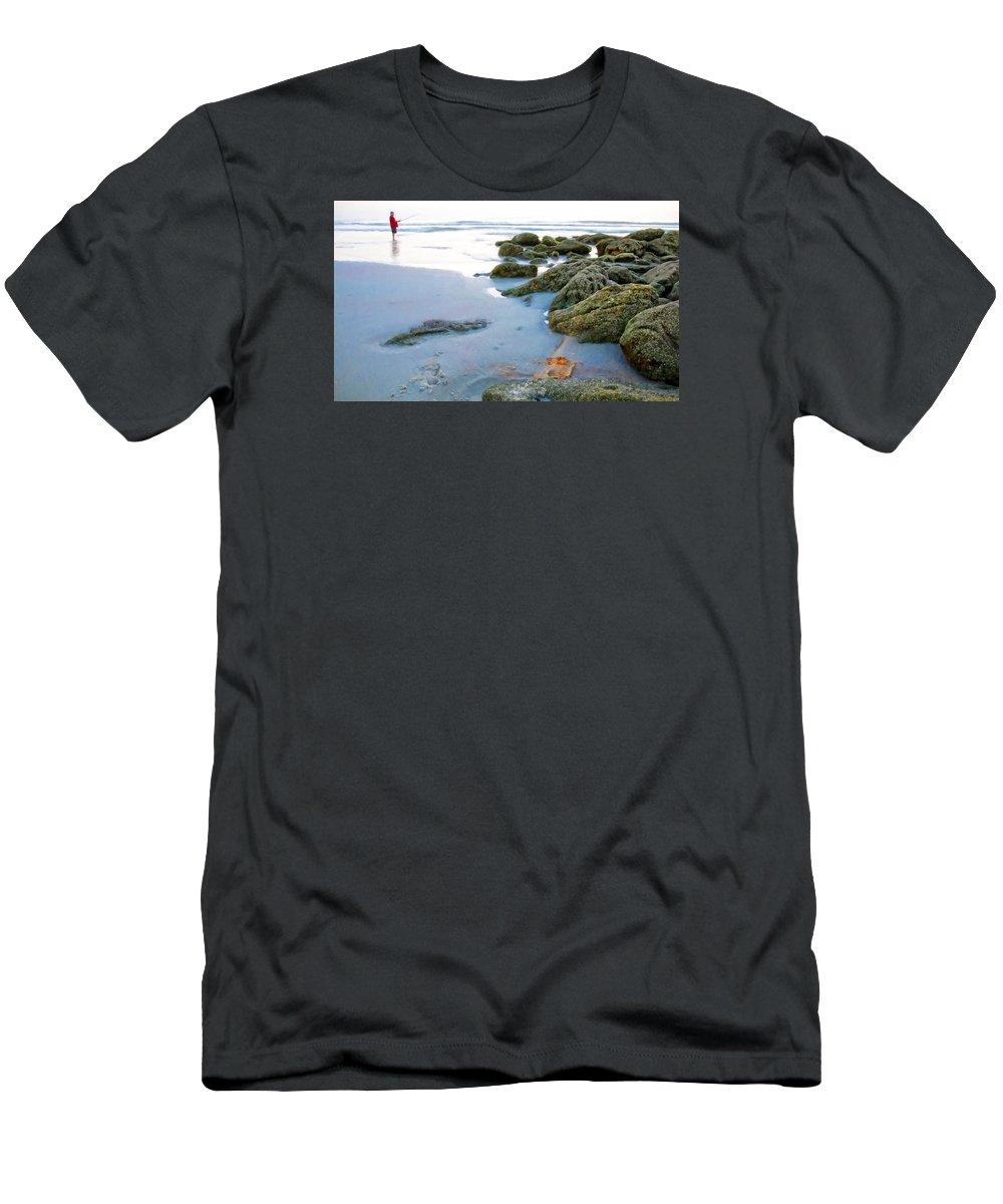 Alicegipsonphotographs Men's T-Shirt (Athletic Fit) featuring the photograph Red Tshirt by Alice Gipson