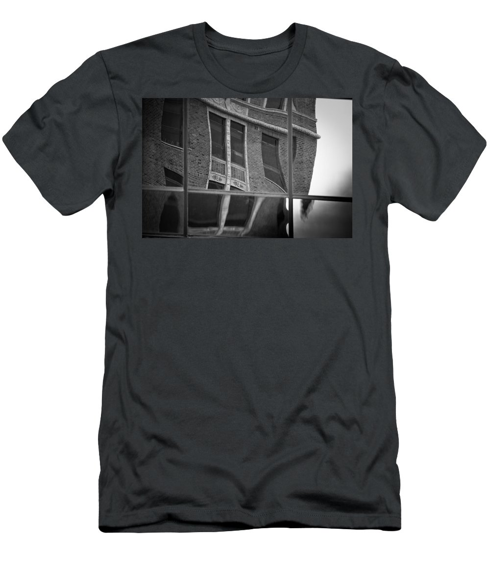 Sioux Falls Men's T-Shirt (Athletic Fit) featuring the photograph Refections Of Nine IIi by Mike Oistad