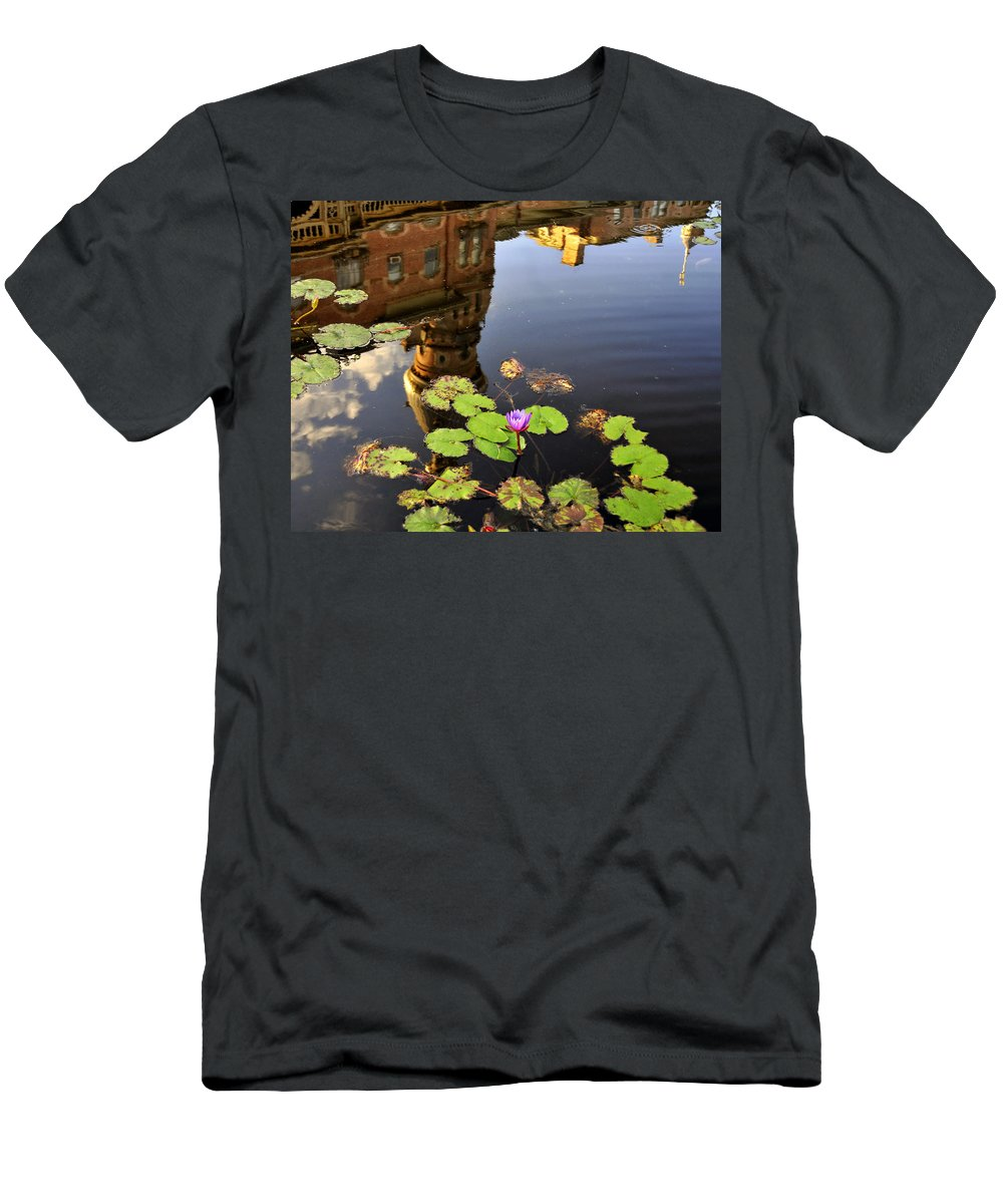 Fine Art Photography Men's T-Shirt (Athletic Fit) featuring the photograph Reflection Of Tradition by David Lee Thompson