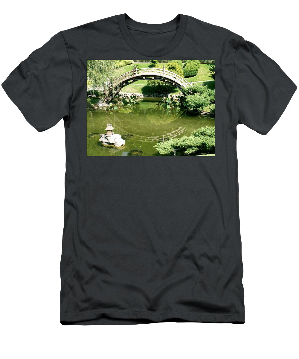 Nature Men's T-Shirt (Athletic Fit) featuring the photograph Reflections by Amy Fose