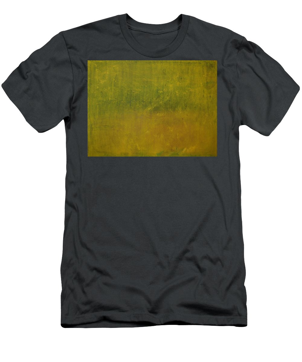 Jack Diamond Men's T-Shirt (Athletic Fit) featuring the painting Reflections Of A Summer Day by Jack Diamond