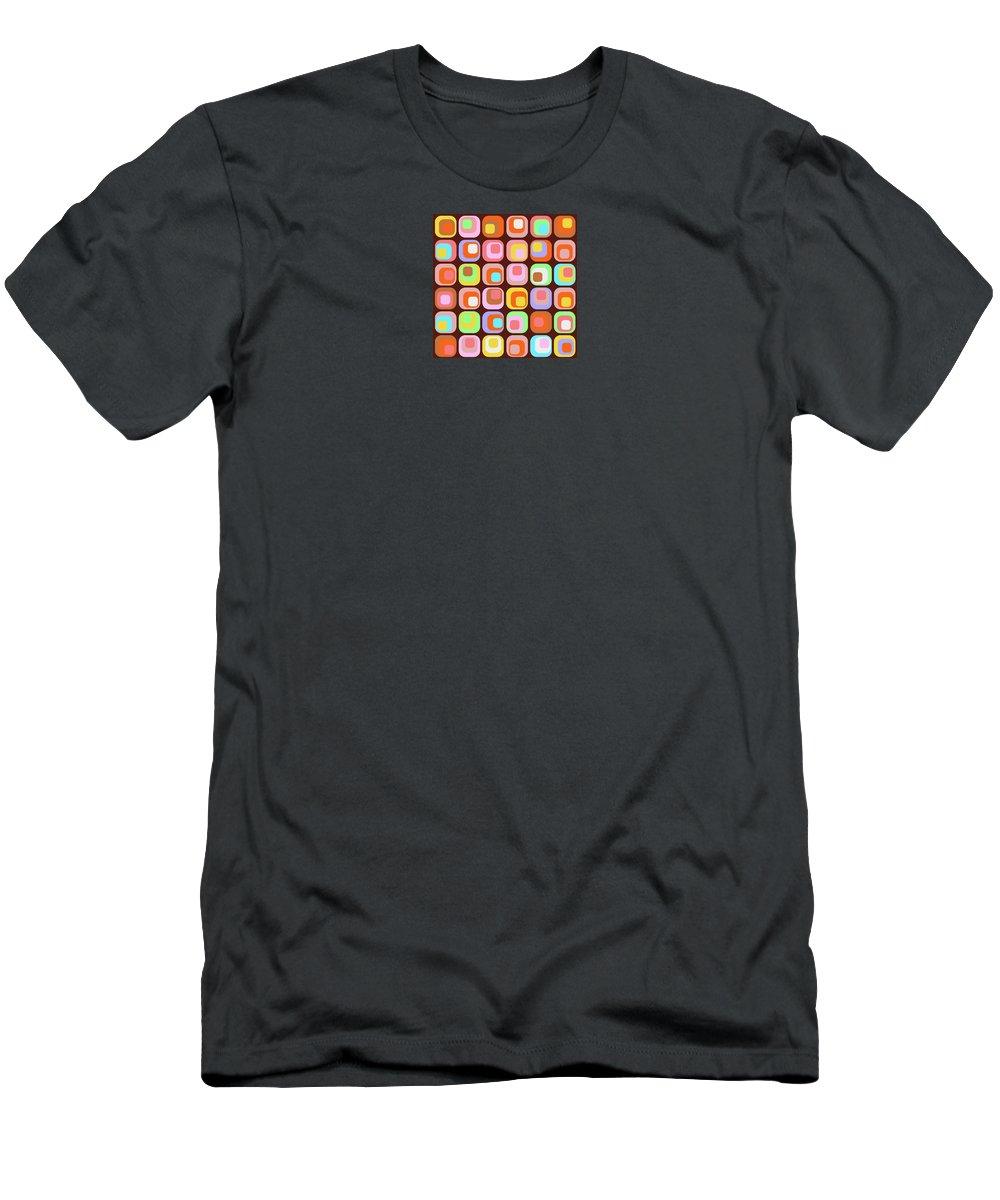 Retro Men's T-Shirt (Athletic Fit) featuring the digital art Retro 42 by Rolf Ebenau