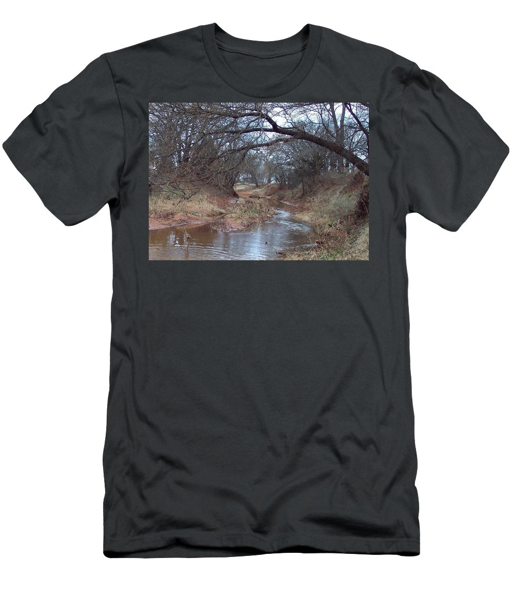 Landscapes T-Shirt featuring the photograph Rivers Bend by Shari Chavira