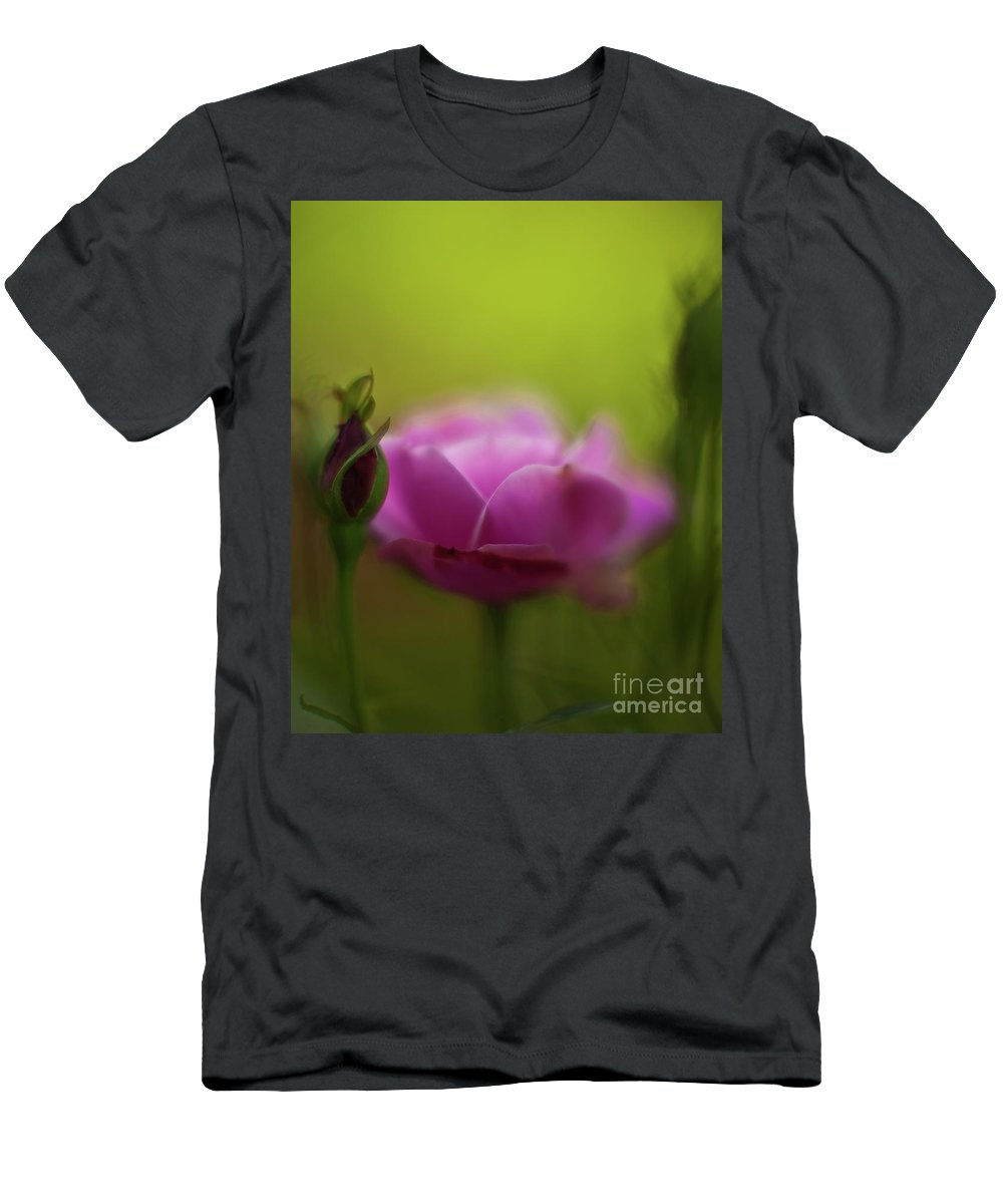 Rose Men's T-Shirt (Athletic Fit) featuring the photograph Roses Dream by Mike Reid