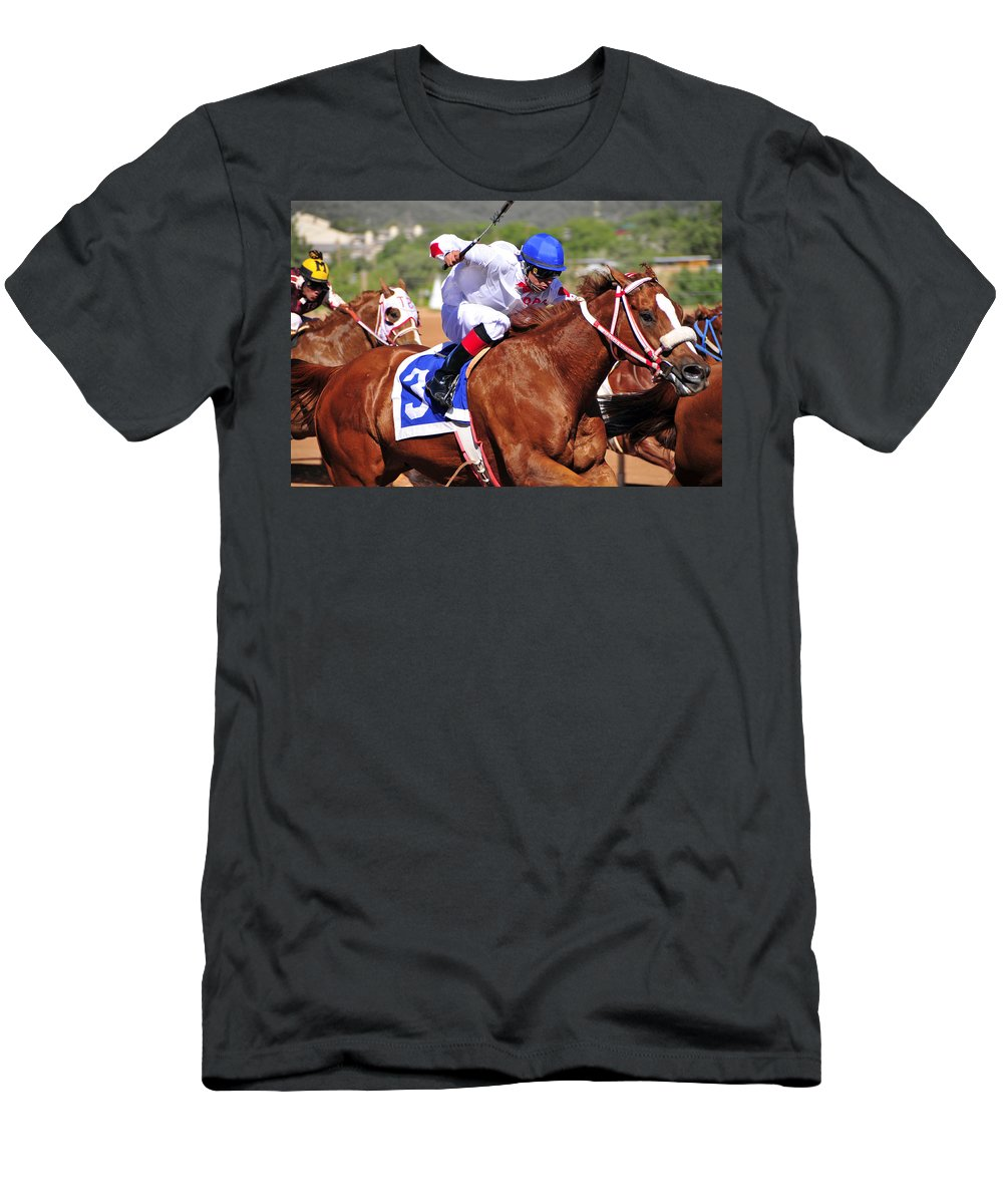 Skip Hunt Men's T-Shirt (Athletic Fit) featuring the photograph Ruidoso by Skip Hunt