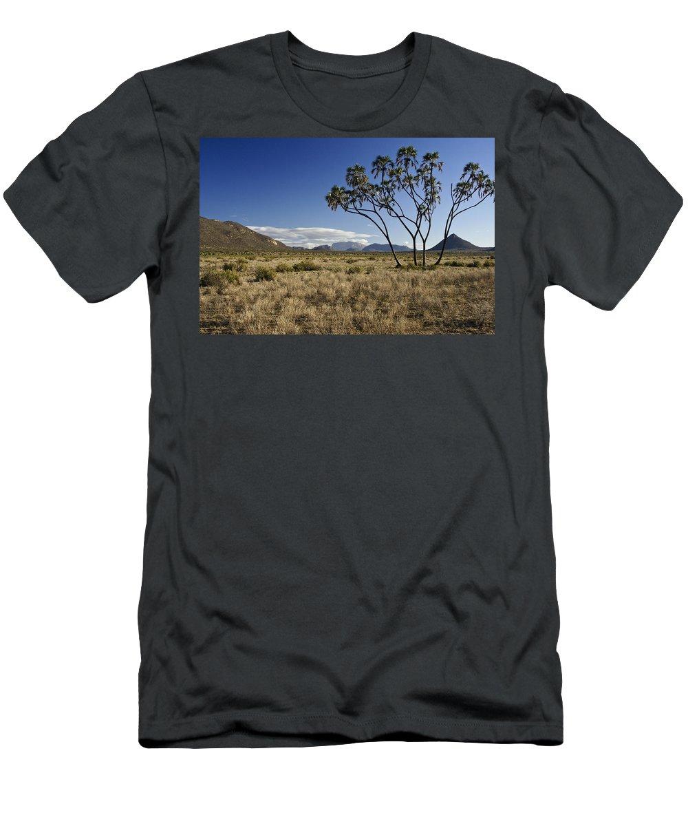 Africa Men's T-Shirt (Athletic Fit) featuring the photograph Samburu Safari by Michele Burgess