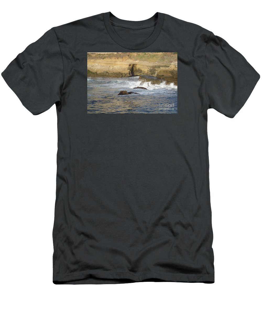 San Diego Men's T-Shirt (Athletic Fit) featuring the photograph San Diego 10 by Madilyn Fox