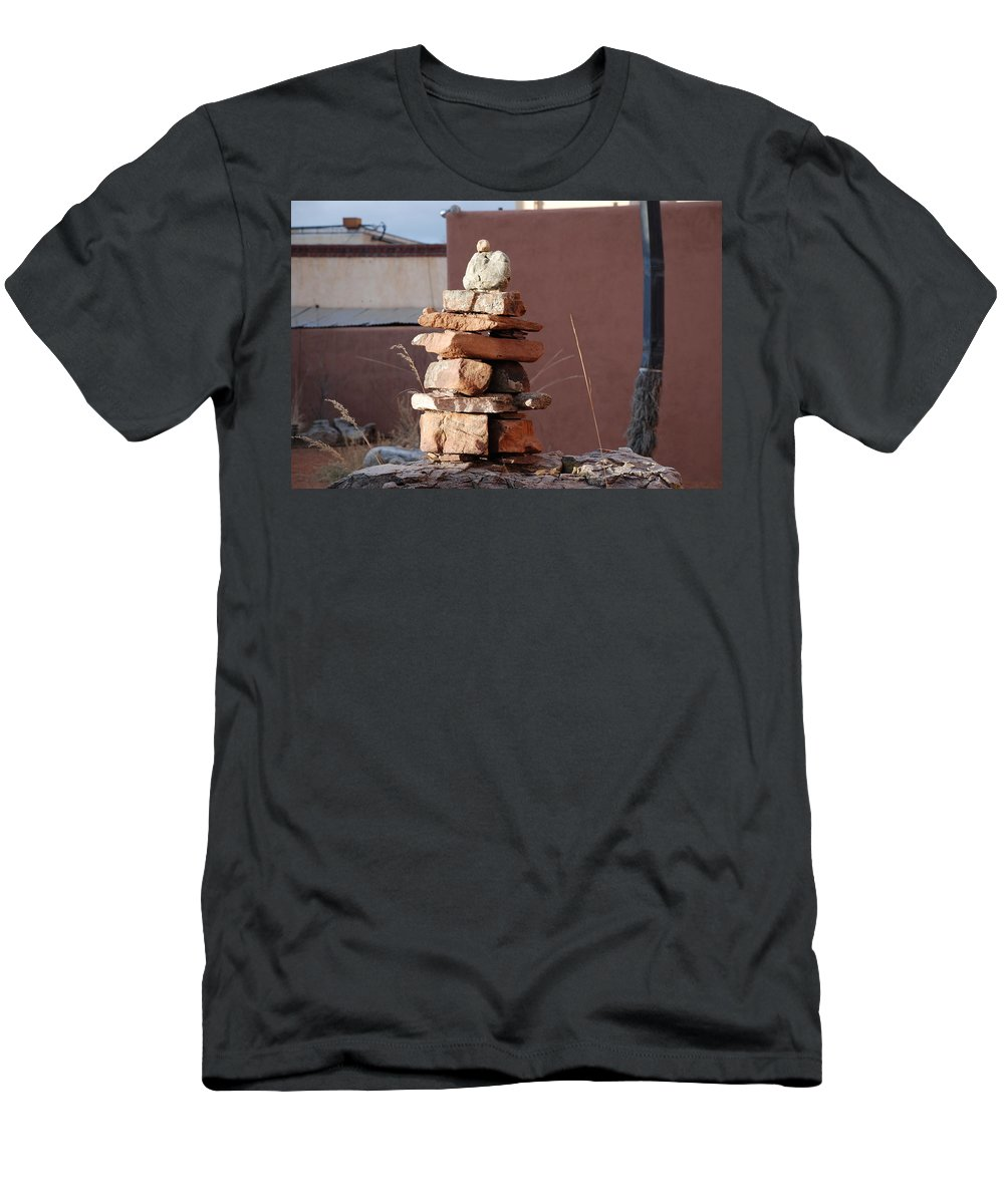 Pop Art Men's T-Shirt (Athletic Fit) featuring the photograph Sante Fe Rocks by Rob Hans