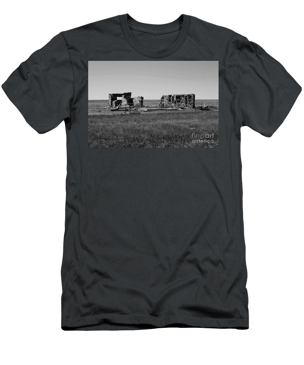 Sante Fe Trail T-Shirt featuring the photograph Sante Fe Trail Ghost by Tommy Anderson