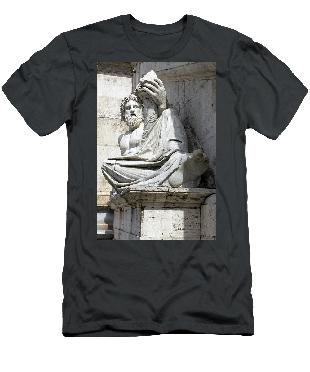 Satisfaction Men's T-Shirt (Athletic Fit) featuring the photograph Satisfaction by Munir Alawi