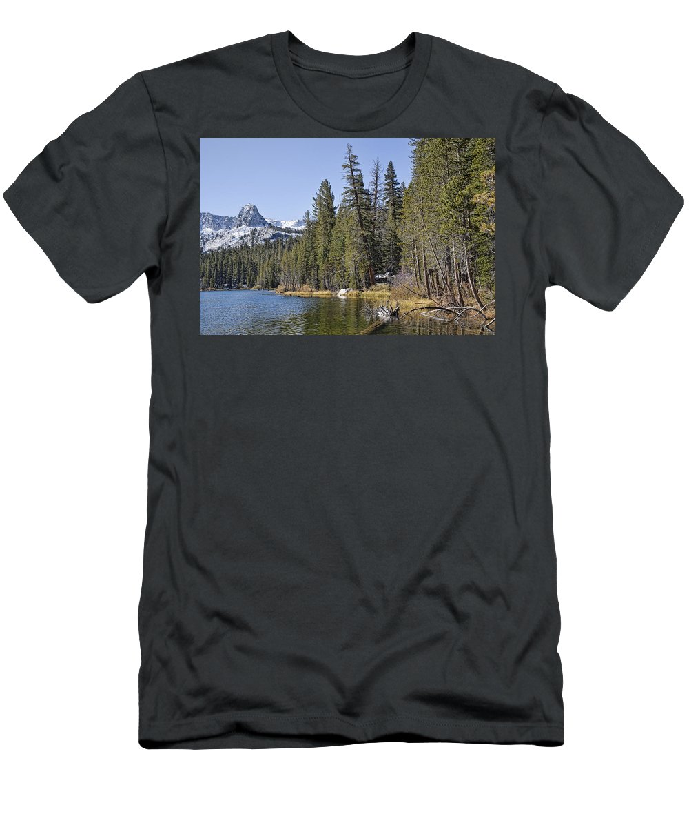 Water Men's T-Shirt (Athletic Fit) featuring the photograph Scenic Beauty by Kelley King
