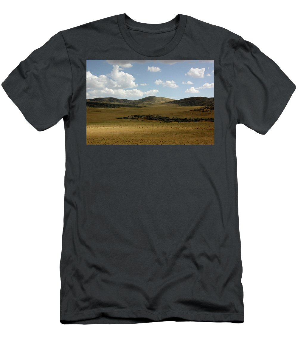 Screen Saver Men's T-Shirt (Athletic Fit) featuring the photograph Screen Saver by D'Arcy Evans