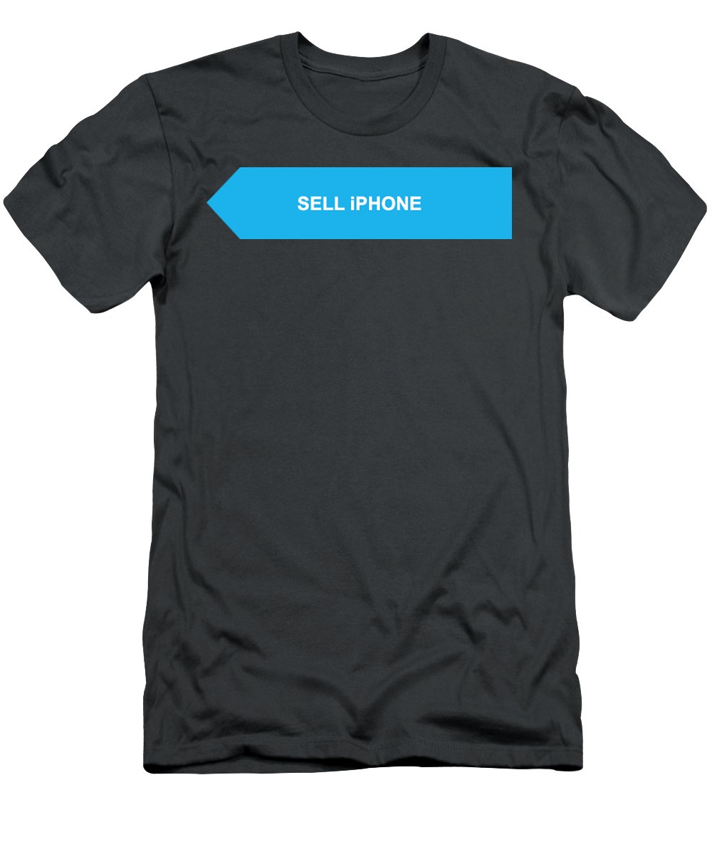 Sell Iphone Men's T-Shirt (Athletic Fit) featuring the digital art Sell Iphone by William James