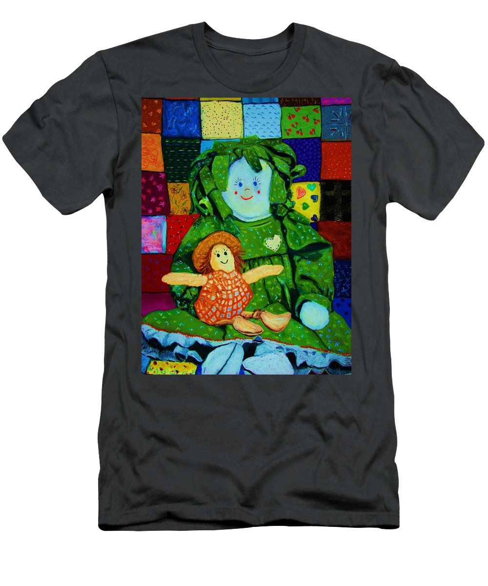 Dolls Men's T-Shirt (Athletic Fit) featuring the print Sew Sweet by Melinda Etzold