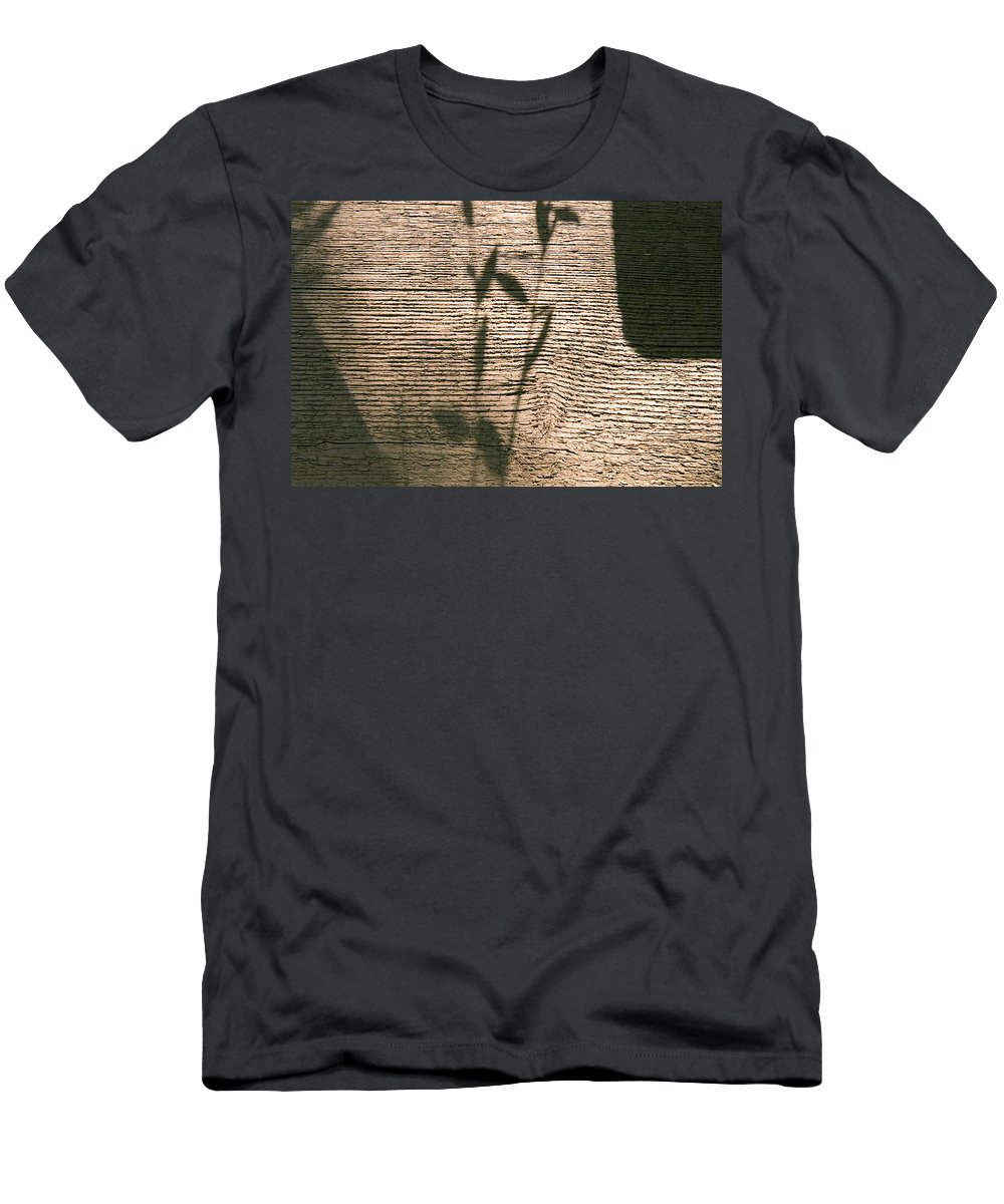 Men's T-Shirt (Athletic Fit) featuring the photograph Shadow by Clayton Bruster