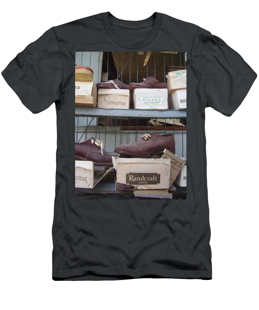 Shoes Men's T-Shirt (Athletic Fit) featuring the photograph Shoes by Flavia Westerwelle