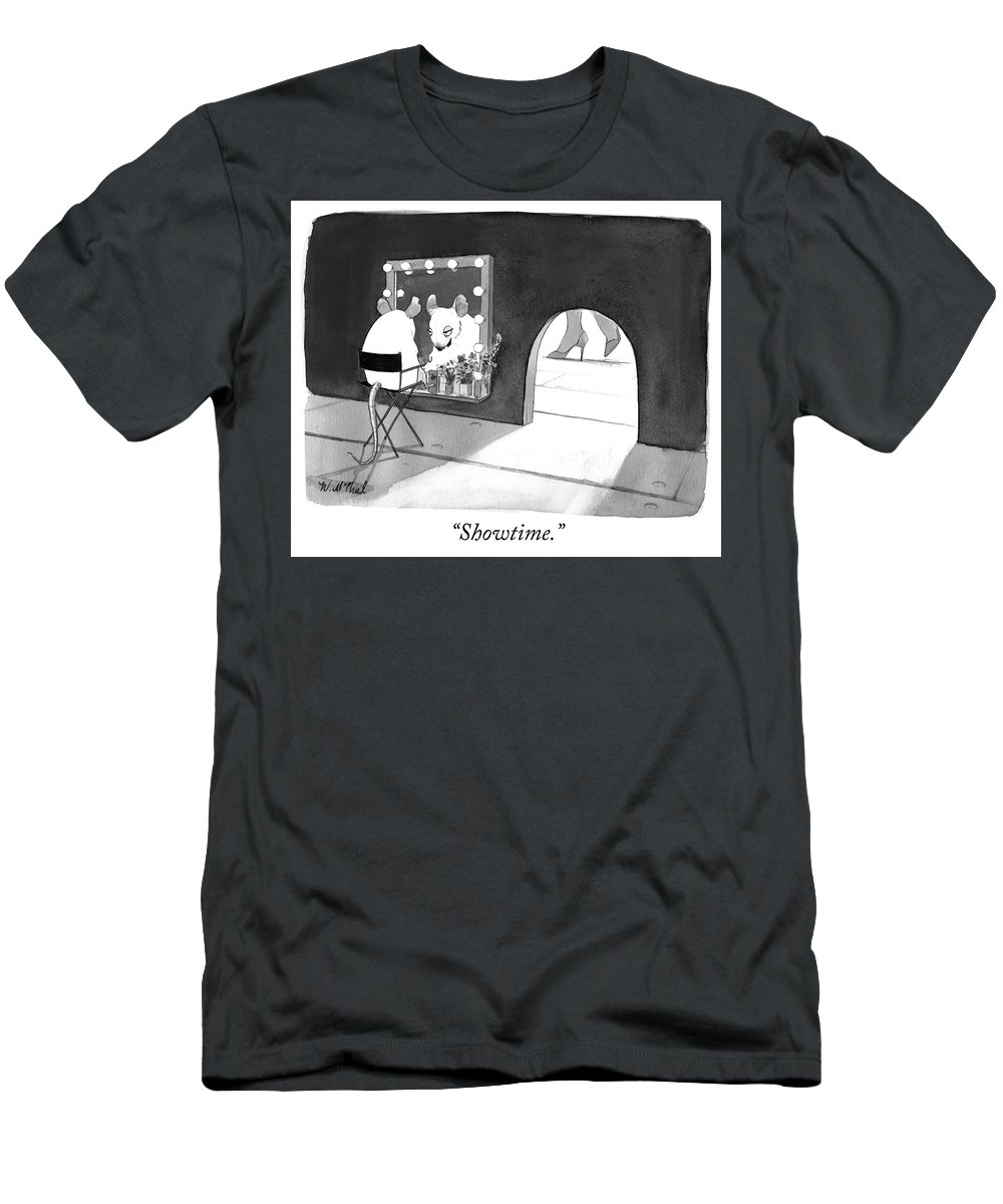 """showtime."" Men's T-Shirt (Athletic Fit) featuring the photograph Showtime by Will McPhail"