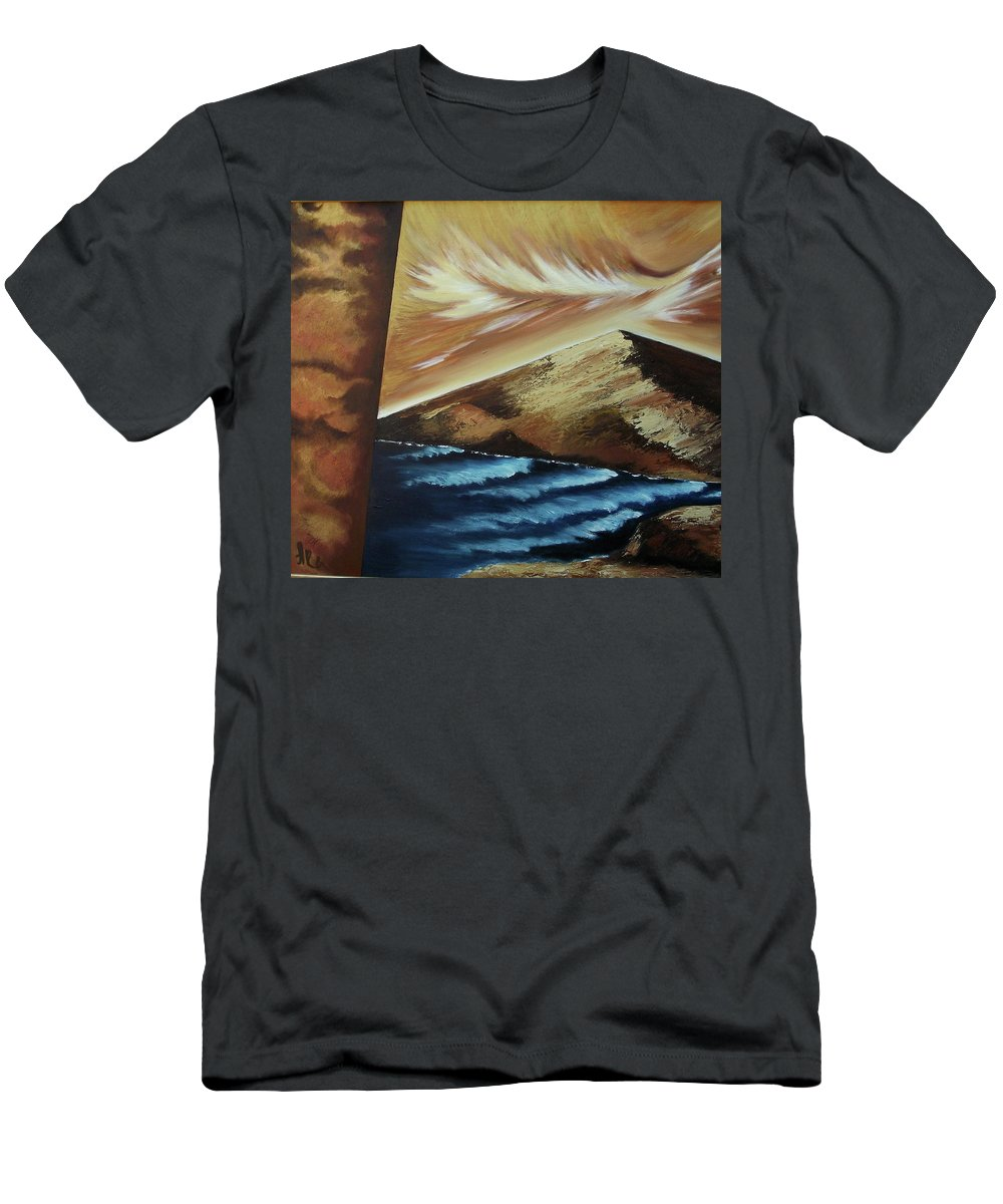 T-Shirt featuring the painting Sign of Truth by Ara Elena