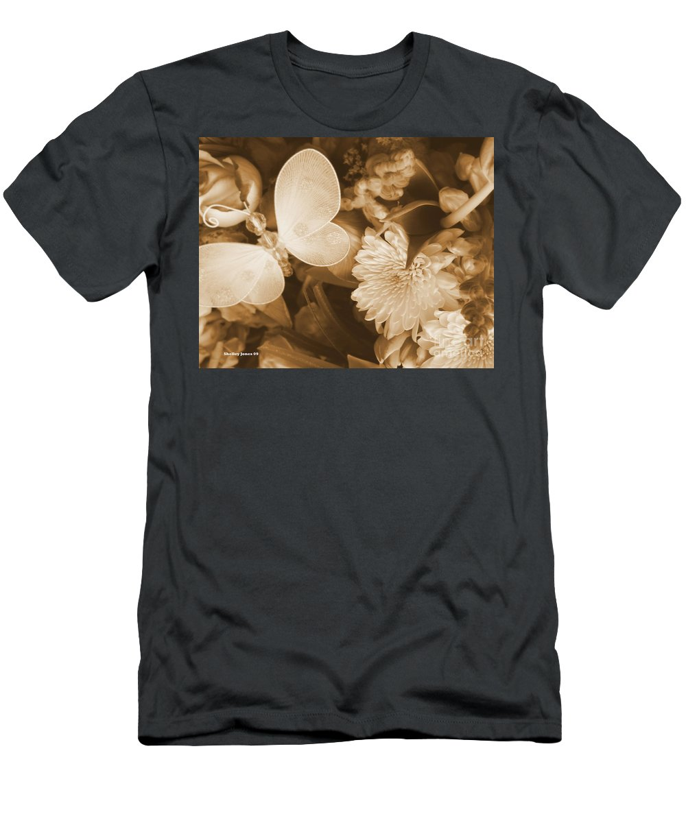 Photography Enhanced Men's T-Shirt (Athletic Fit) featuring the photograph Silent Transformation Of Existence by Shelley Jones