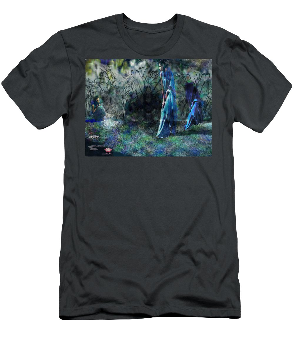 Sisters Of Fate T-Shirt featuring the photograph Sisters of Fate by Seth Weaver