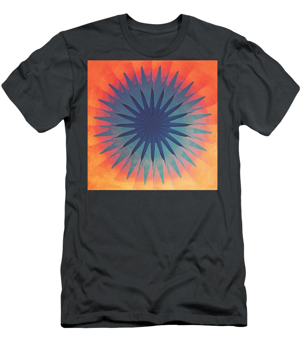 Kaleidoscope Men's T-Shirt (Athletic Fit) featuring the photograph Skyeye by Bob Hedlund