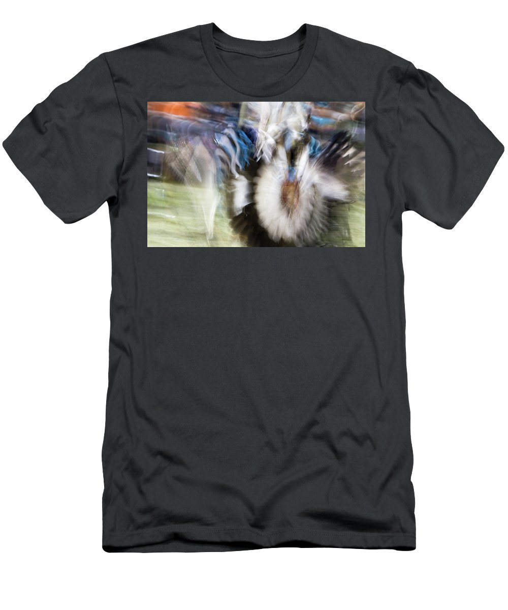 Pow Wow Men's T-Shirt (Athletic Fit) featuring the photograph Smudge 217 by M Bubba Blume