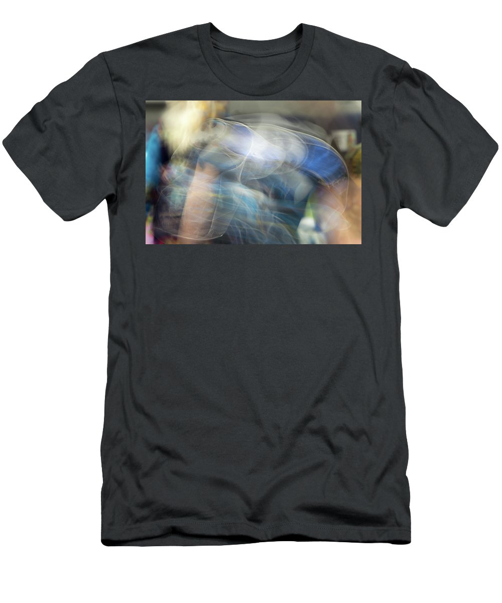 Pow Wow Men's T-Shirt (Athletic Fit) featuring the photograph Smudge 245 by M Bubba Blume