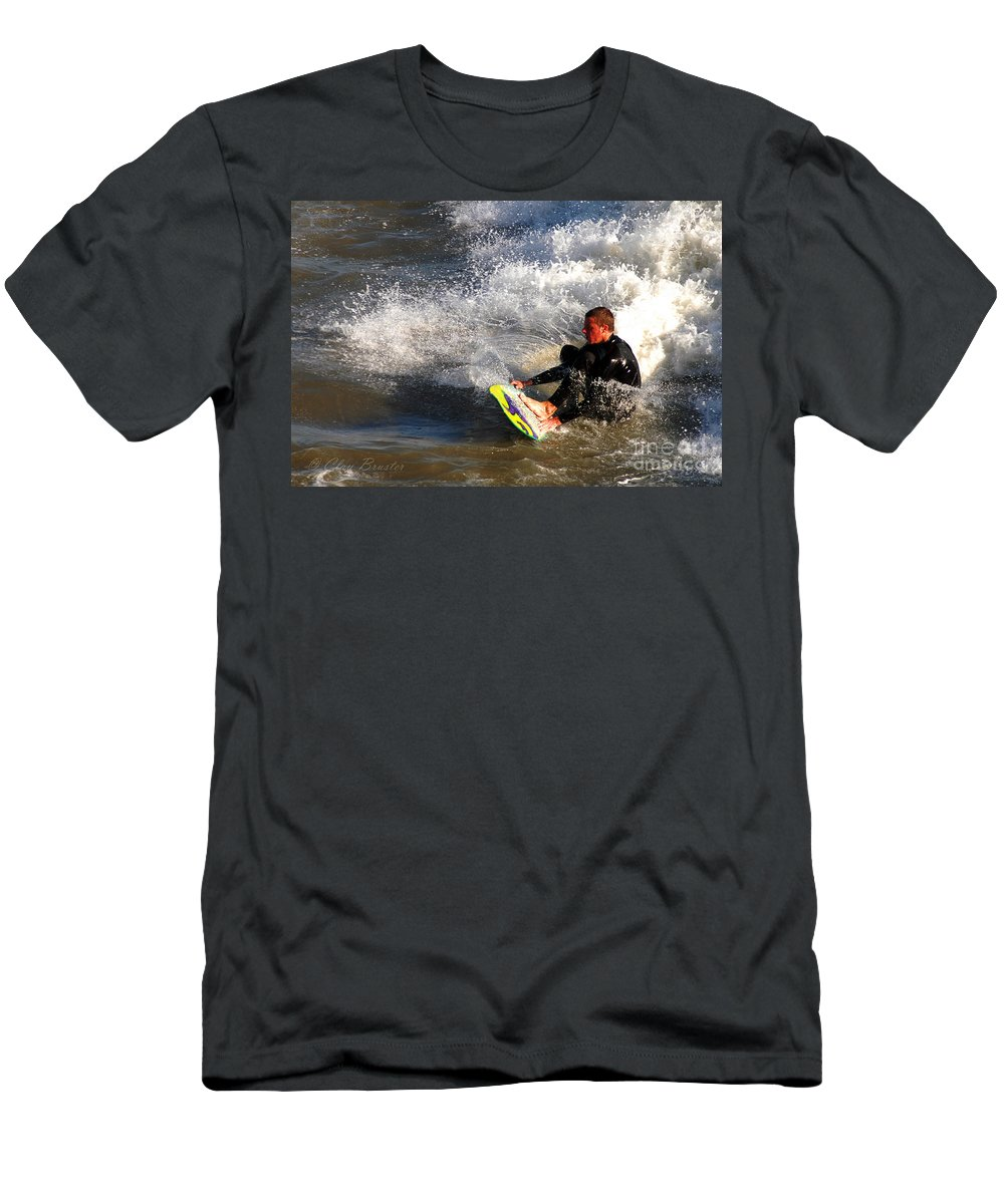 Clay Men's T-Shirt (Athletic Fit) featuring the photograph Sorfin' In Socal by Clayton Bruster