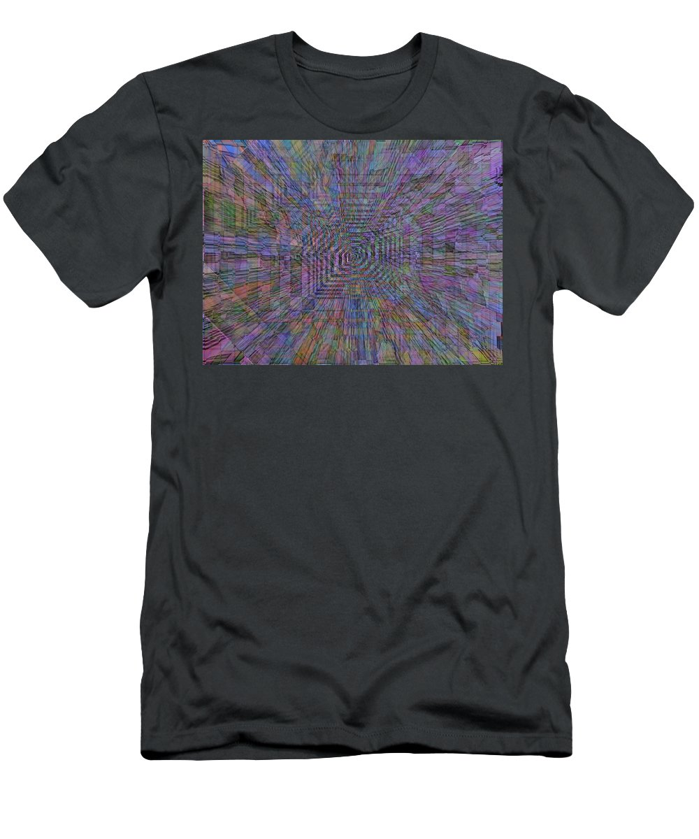 Sound Men's T-Shirt (Athletic Fit) featuring the digital art Sound Waves by Tim Allen