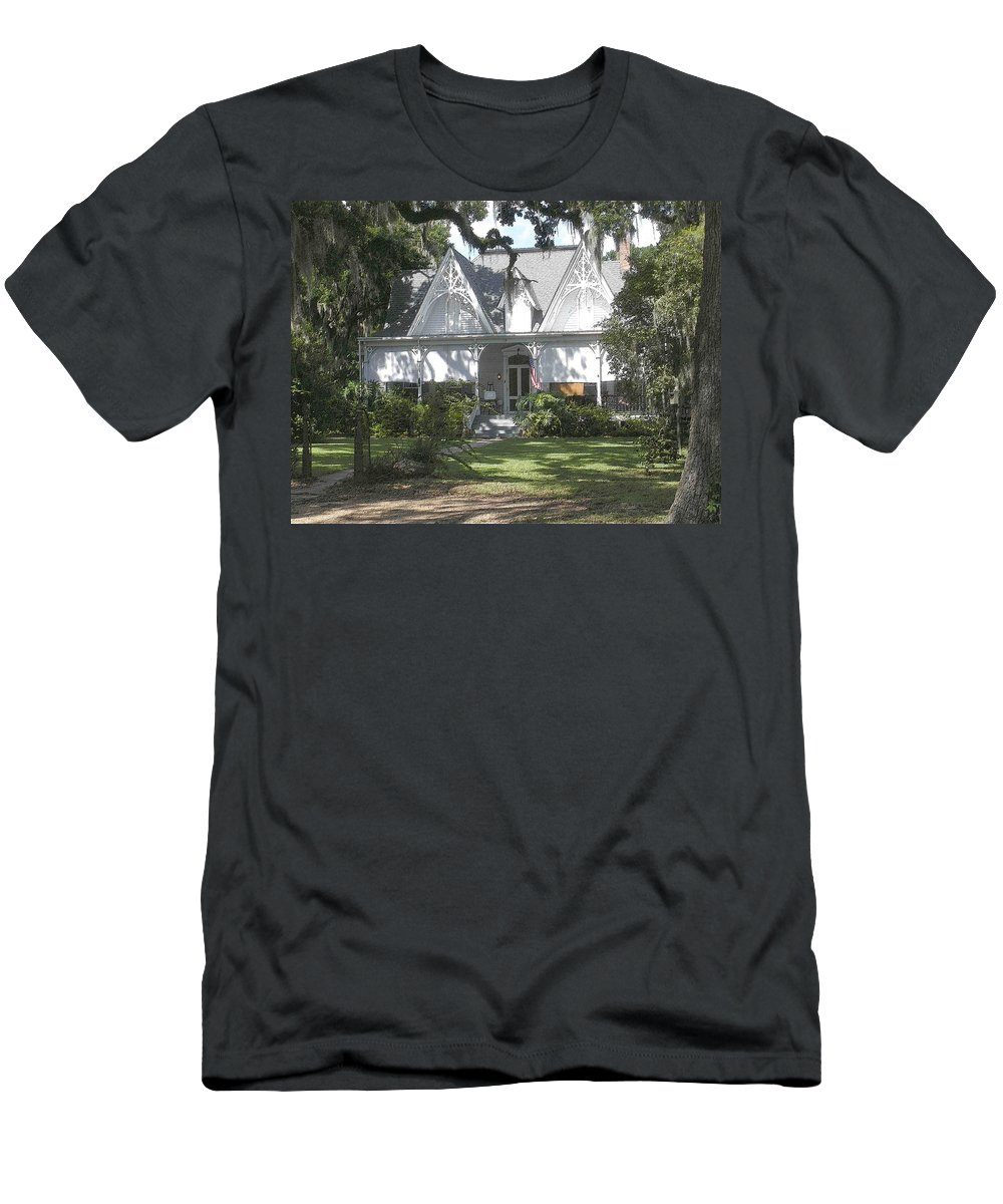 St. Francisville Men's T-Shirt (Athletic Fit) featuring the photograph Southern Comfort by Nelson Strong
