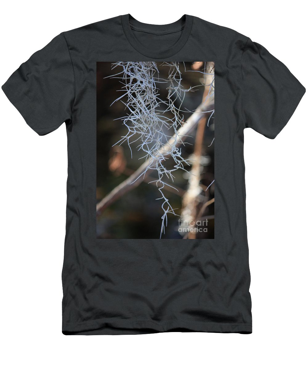 Spanish Moss Men's T-Shirt (Athletic Fit) featuring the photograph Spanish Moss by Carol Groenen