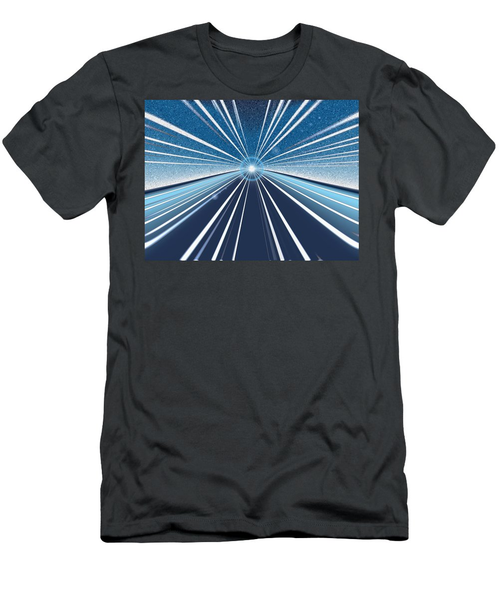 Speed Men's T-Shirt (Athletic Fit) featuring the digital art Speed by Tim Allen