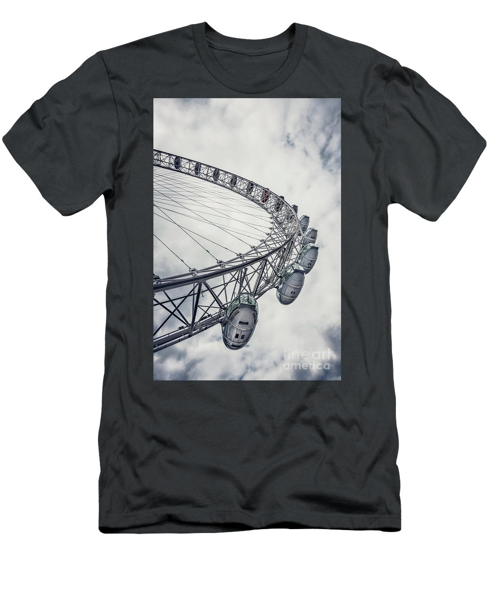Kremsdorf Men's T-Shirt (Athletic Fit) featuring the photograph Spin Me Around by Evelina Kremsdorf