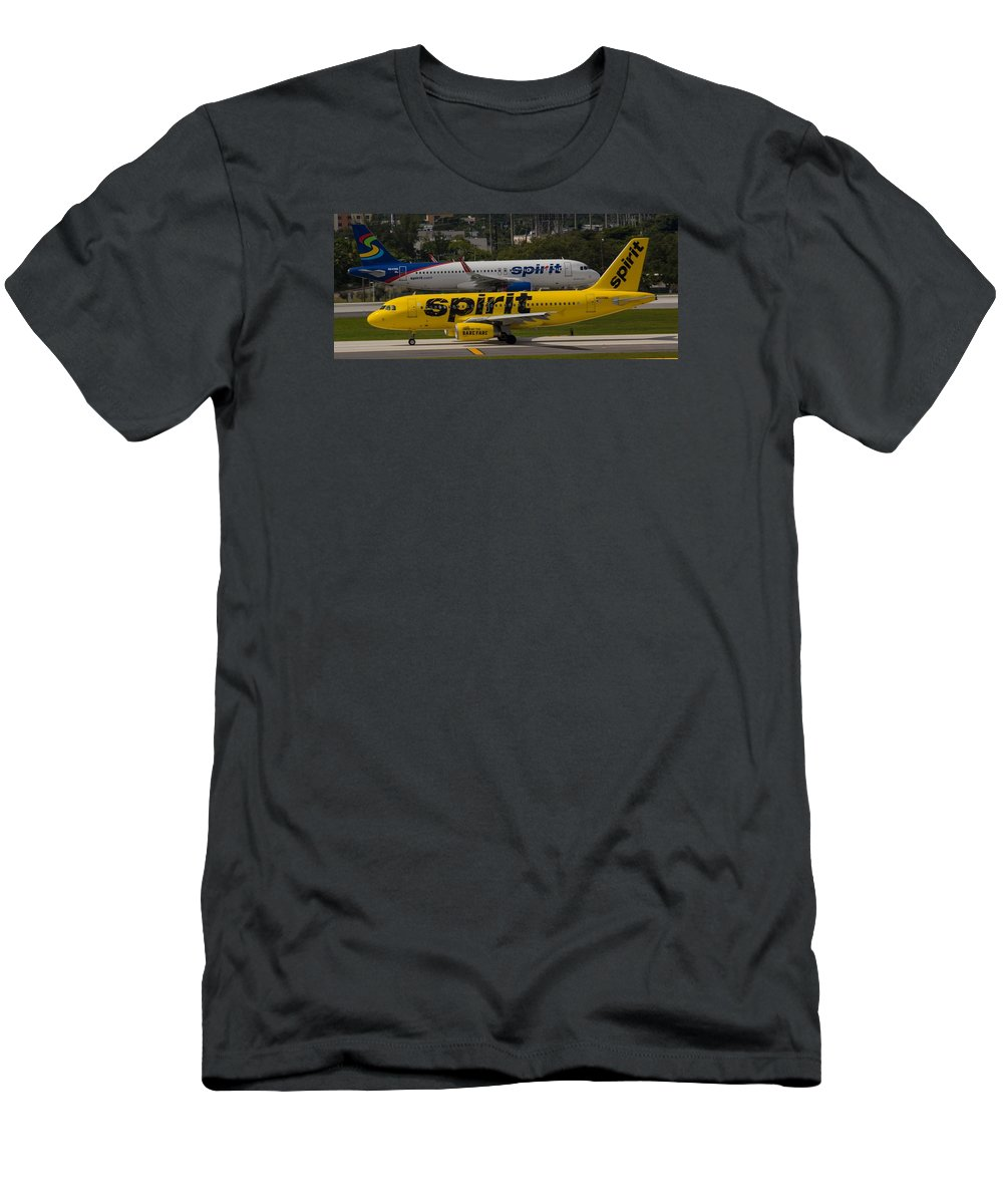 Airline Men's T-Shirt (Athletic Fit) featuring the photograph Spirit Spirit by Dart and Suze Humeston