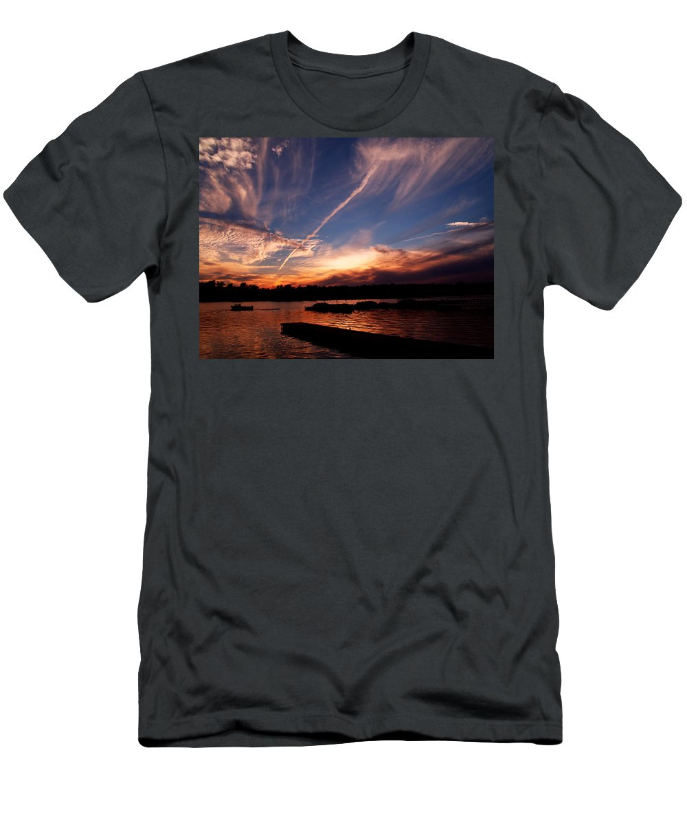 Sky T-Shirt featuring the photograph Spirits In The Sky by Gaby Swanson