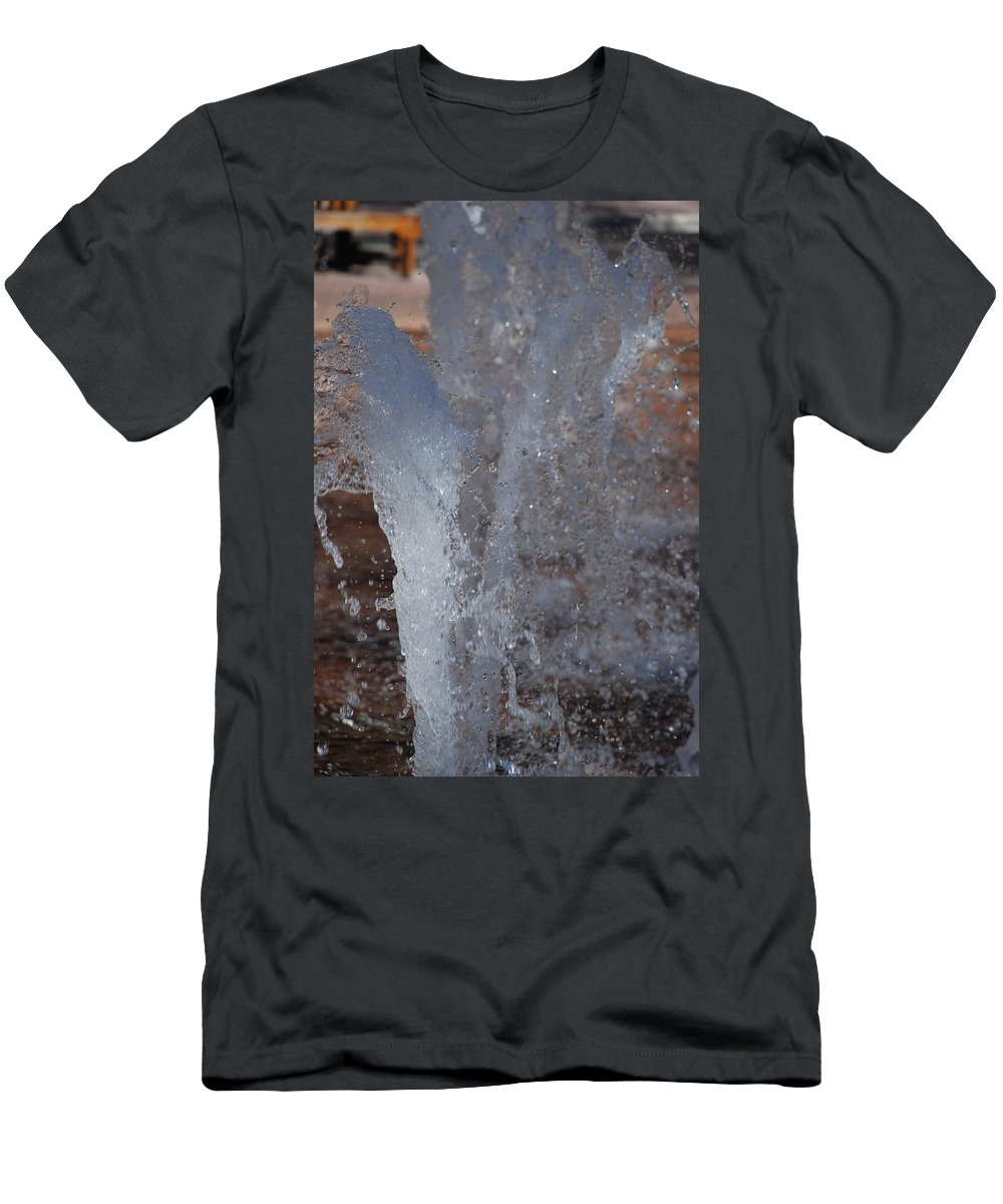 Water T-Shirt featuring the photograph Splash by Rob Hans