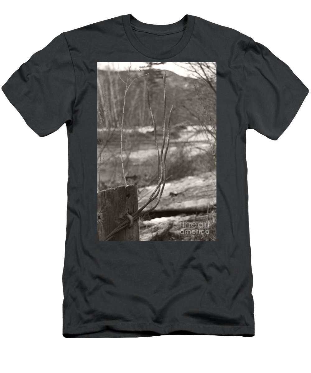 Men's T-Shirt (Athletic Fit) featuring the photograph Sprouting by Heather Kirk