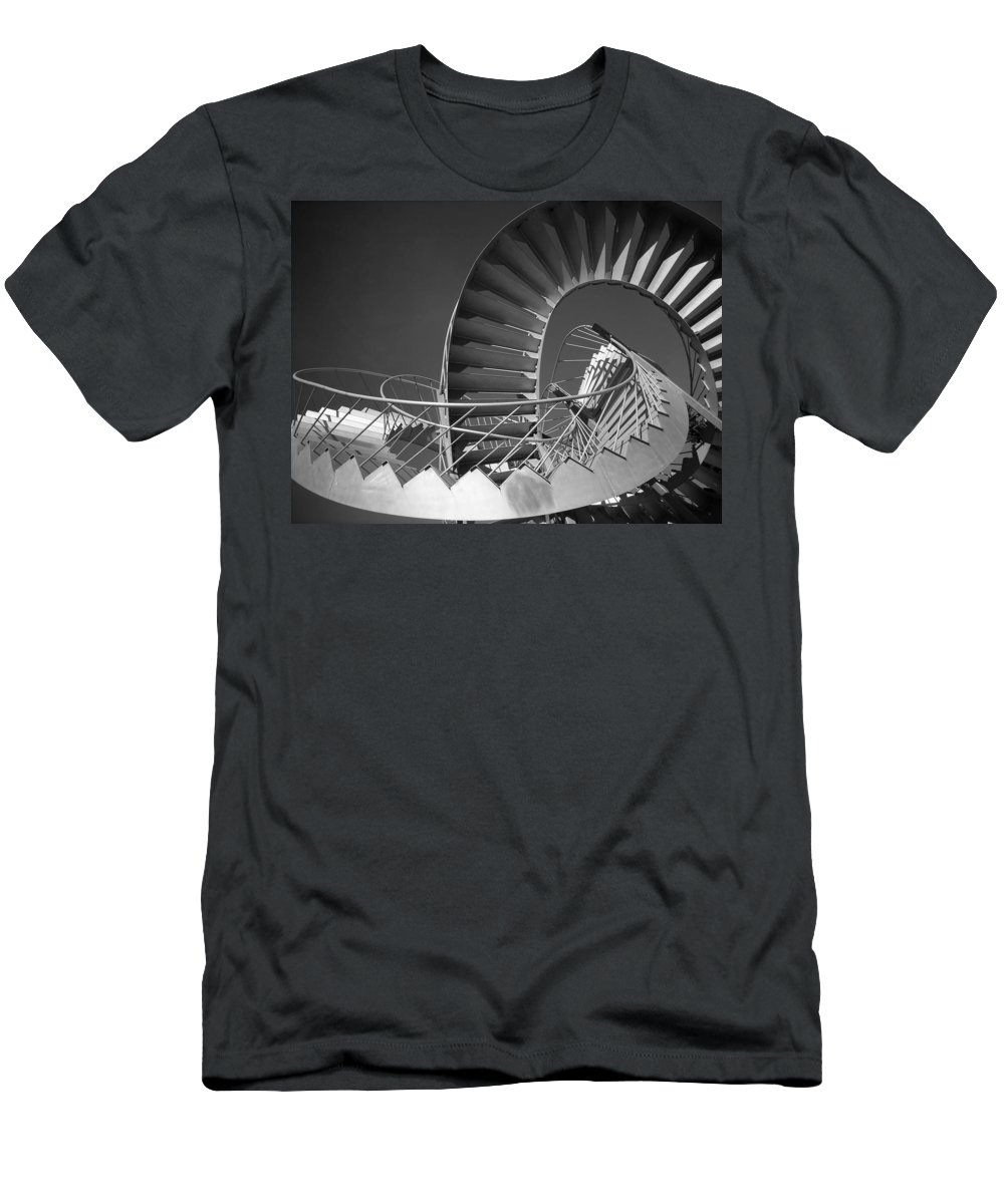 North America Men's T-Shirt (Athletic Fit) featuring the photograph Stairway To Heaven ... by Juergen Weiss