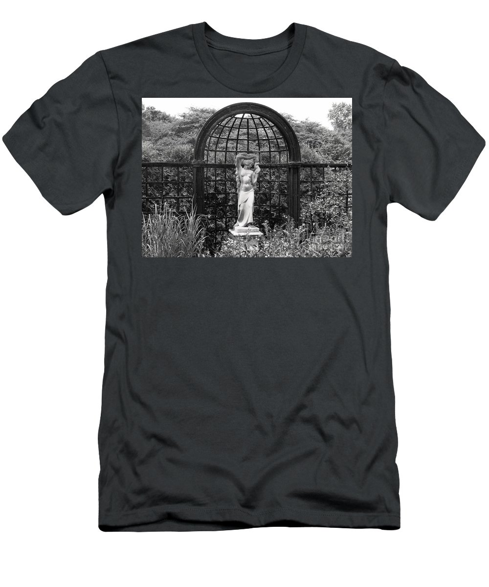 Men's T-Shirt (Athletic Fit) featuring the photograph Statue Landscape by Laurie Eve Loftin