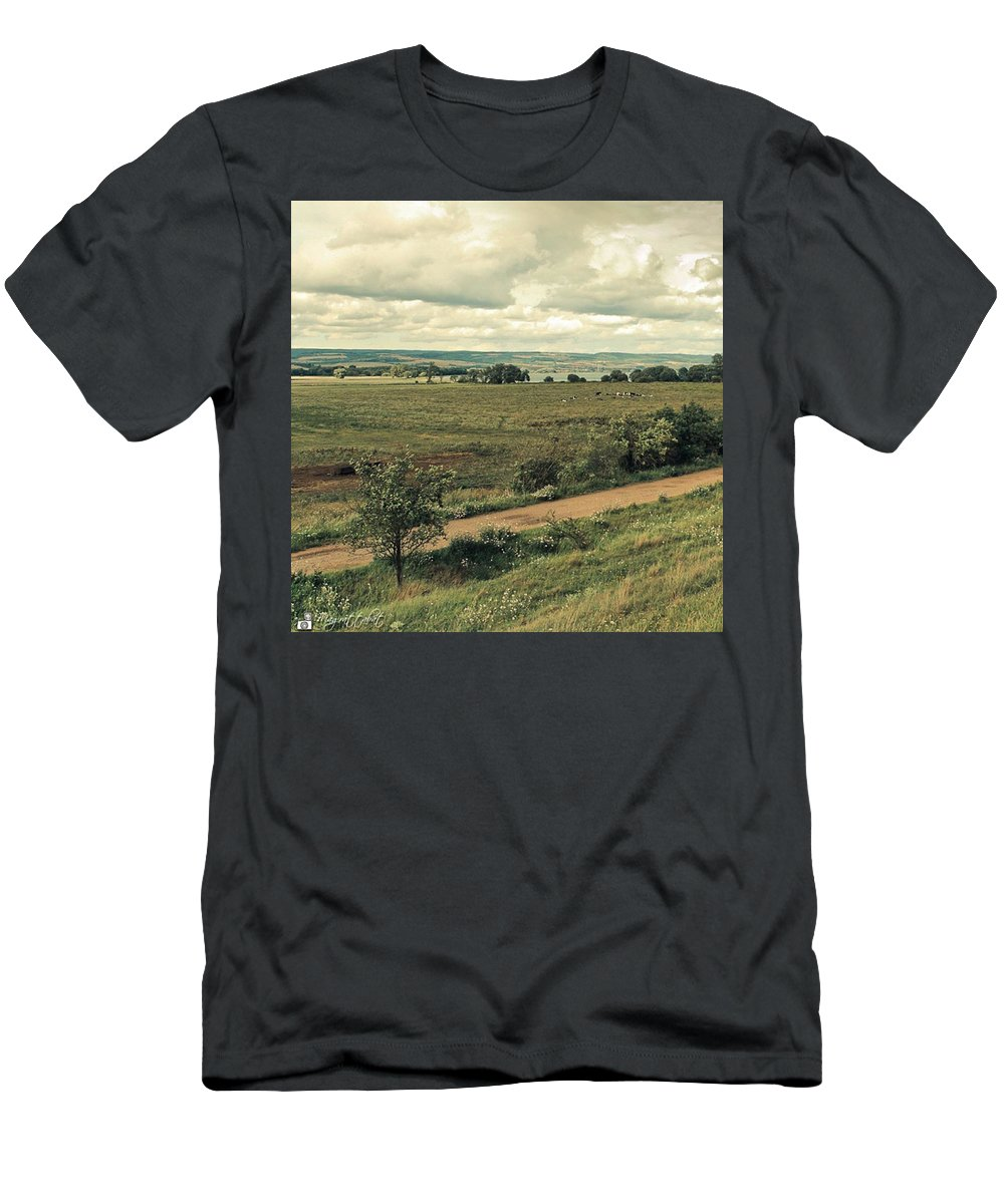 Kyffhaeuser T-Shirt featuring the photograph Stausee Kelbra  #nature #flowers by Mandy Tabatt