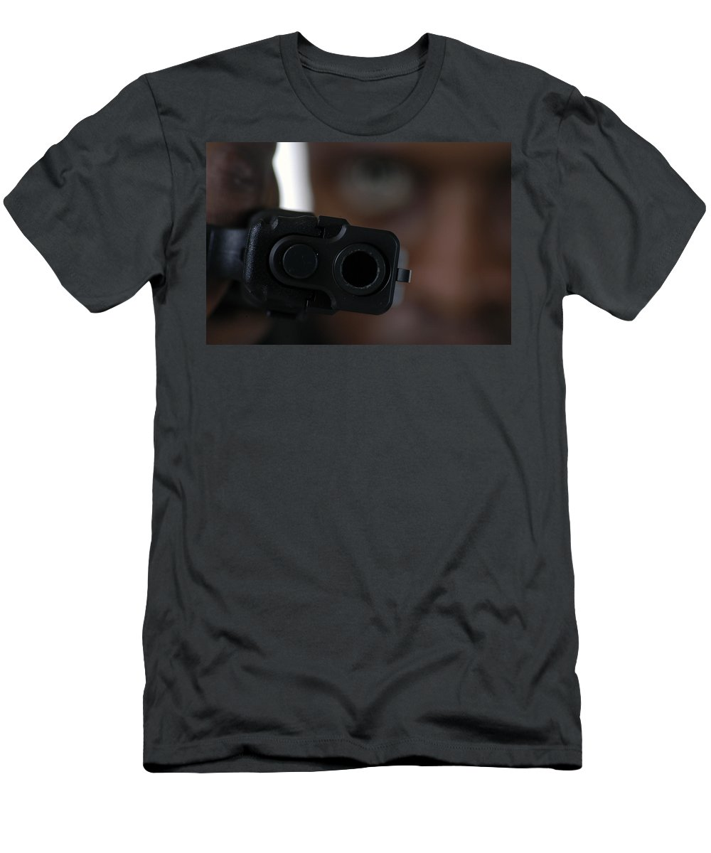 9mm Men's T-Shirt (Athletic Fit) featuring the photograph Stereotype by D'Arcy Evans