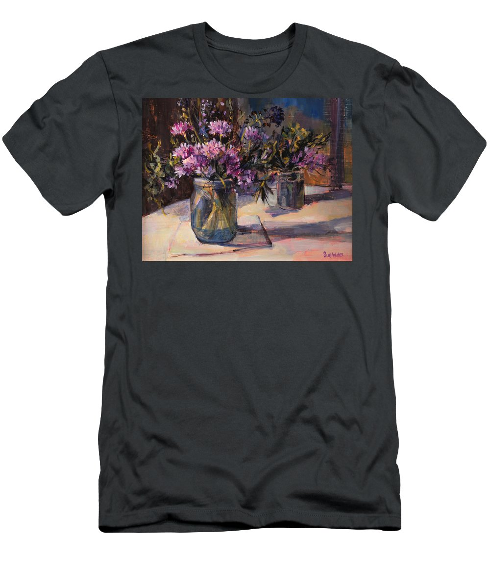 Still-life Men's T-Shirt (Athletic Fit) featuring the painting Still Life by Sue Wales