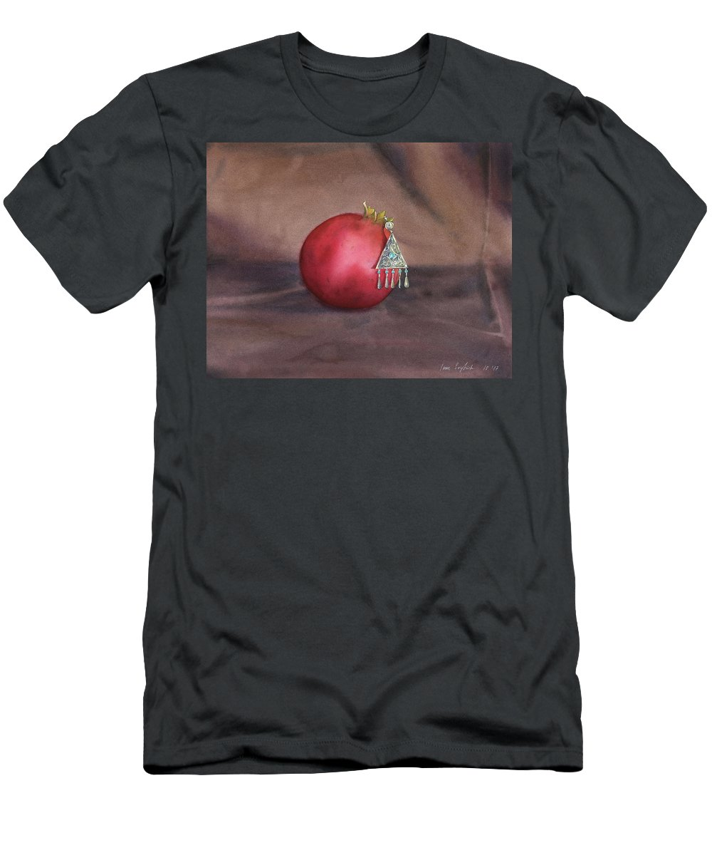 Still Life Men's T-Shirt (Athletic Fit) featuring the painting Still Life With Earring by Zapista Zapista