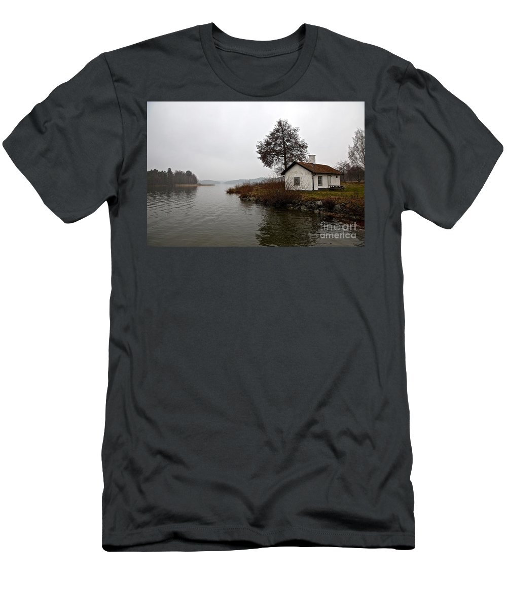 Men's T-Shirt (Athletic Fit) featuring the photograph Stoccolma... by Cristiano Chianese