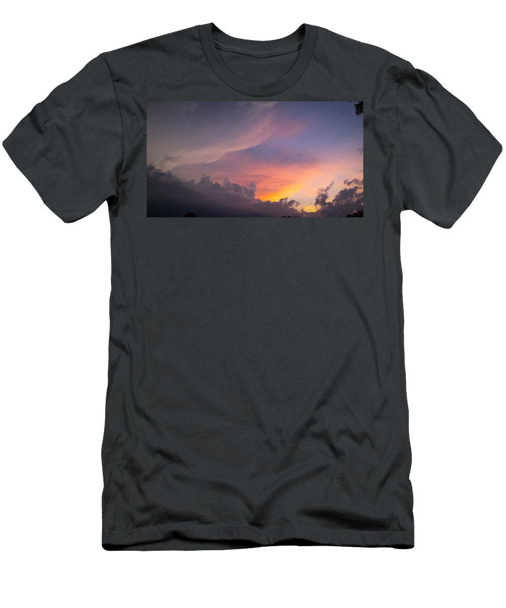Storm Men's T-Shirt (Athletic Fit) featuring the photograph Storm Clouds 1 by Jennifer Kohler